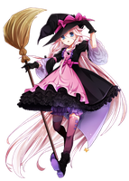 [#RENDER] IA Witch by xBunnyGoth