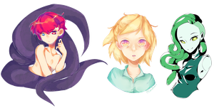 Some charas by madichams