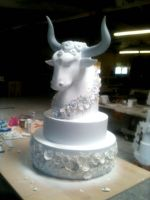 Finished Prop Cake by TimBakerFX