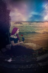 Roses In The Sea by maiarcita