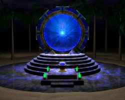 Stargate at Night Final by someole3d