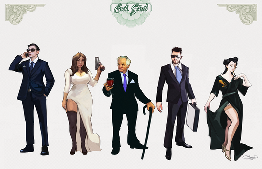 Cash Grab - The Oligarchs by NoahBDesign