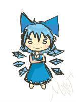 Cirno Animation by Marianna-Rianon