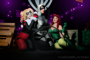 Gotham Sirens from BtSA by Yukilefay