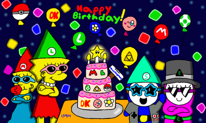 Happy Birthday from MarioSimpson1 by MarioSimpson1