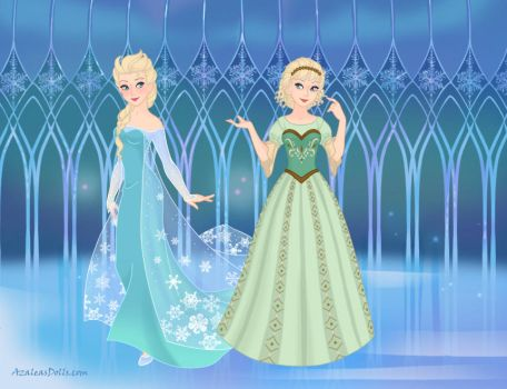 Historically Accurate Disney - Elsa by Persinette-Rose