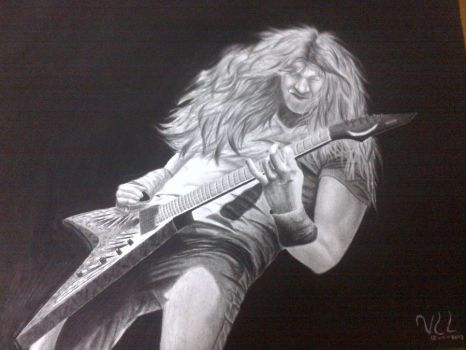 dave mustaine fan art by vero1carbone