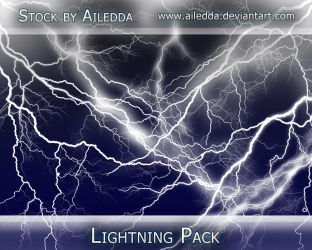 Lightning Brushes by Ailedda by Ailedda