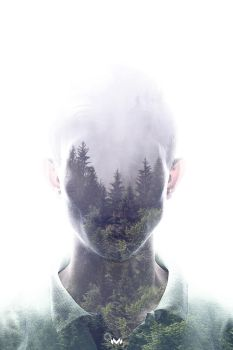Double Exposure by BidoPortfolio