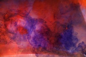 Water smoke - red/blue by anul147