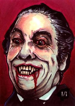 Christopher Lee Dracula by Christopher-Manuel