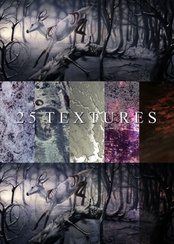 25 Textures by NukeRooster