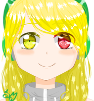 My New Profile Picture(for Youtube and stuff) by AlenaMiyuki