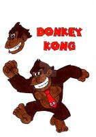 Donkey Kong (classic design) by CAR-TACO