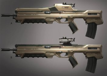 FUSE Standard Rifle by MeckanicalMind