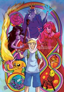 Adventure Time by Morayah