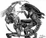 Cutiepix Alien vs. Predator by Cutiepix