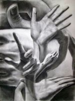 hands study by pinklock3