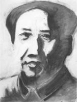 mao - study for painting by pexa