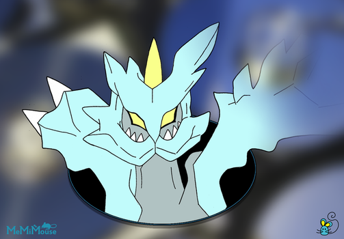 Confused Kyurem by MeMiMouse