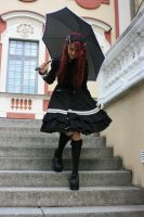 Gothic Lolita 22 by Kechake-stock
