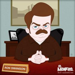 Ron Swanson by jarturotorres