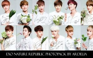 [PHOTOPACK] EXO Nature Republic by ArdeliaExotics
