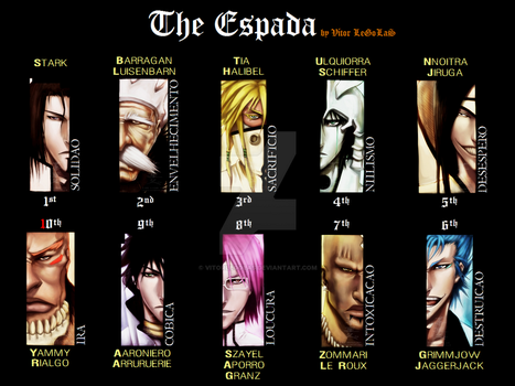 The Espada - Full Info by vitorlegolas