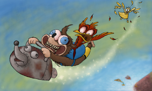 Banjo-Tooie - Canary Mary Race by pettamapossum