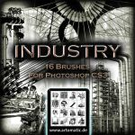 16 INDUSTRIAL BRUSHES by gusti-boucher