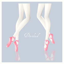 [MMD] Ballet Shoes Download! by AyaneFoxey