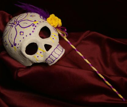 Candy Skull Mask by MasqueradeDreams