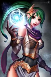Lia: The Oracle of Life by sakuyasworld