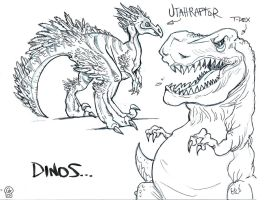 Dinos by Eastforth