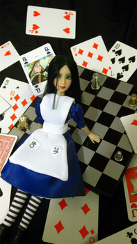 Alice: Madness Returns doll by 0lgerd