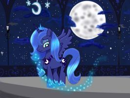 Princess Luna.. by nenaclaudia