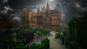 Herobrine's Mansion (Adventure Map) by Caio947s