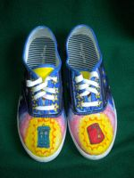 Dr Who Shoes by GAClive