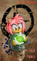 Amy Our Hero with Adamis by kintobor
