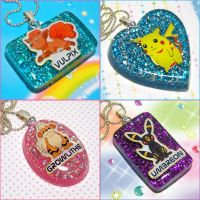 Pokemon Resin Necklaces 2