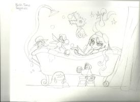 Bath time scrap by peridive78