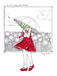 Yuuka of the sunflower field by LalaIcyling