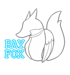 Ray Fox logo by HoodieFoxy