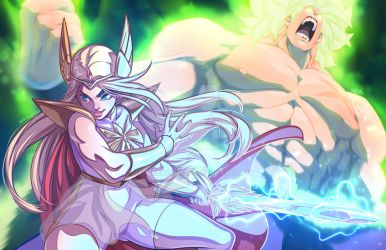 She-Ra and Broly by theCHAMBA