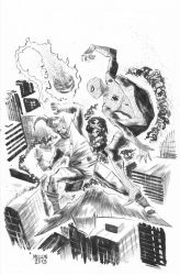 Spider-Man vs Green Goblin by kevinmellon