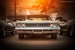 1969 Plymouth Sport Fury - Front by AmericanMuscle