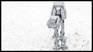 AT-AT Lego by GabrielM1968
