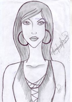 Sketch Of A Girl by rock1rox