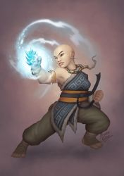 Yuzen - Brianna the winter fist by b-cesar