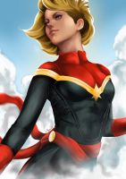 Captain Marvel by Mark42m